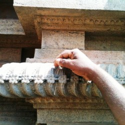 Architectural intricacy, Big Temple, Thanjavur