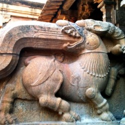 Sculpture Big Temple of Shiva, Thanjavur
