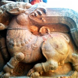 Sculpture at Big Temple of Shiva, Thanjavur