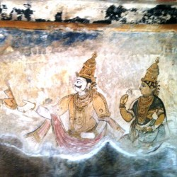 Tanjore Painting at Big Temple, Thanjavur