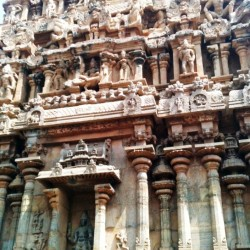 Tower figurines, Big Temple, Thanjavur